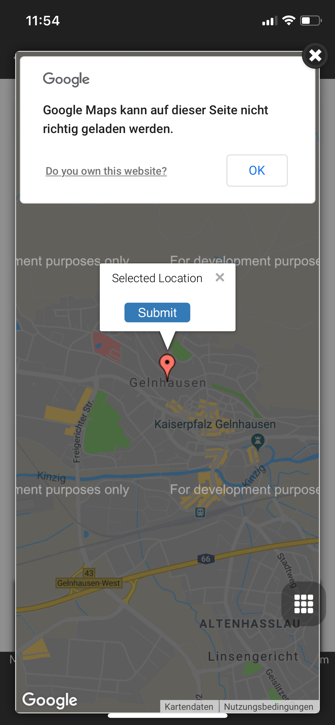 Topic: Android App Google Maps failure | OpenSprinkler